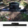 Памятник 50x70x10 cm  + гранитная подставка 25x200x15