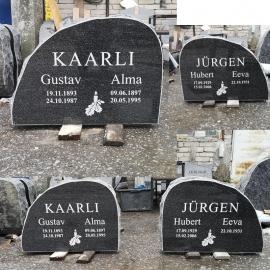 (50x70 cm) Надгробный камень и гравировка